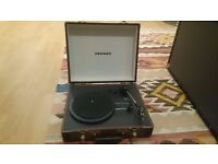 NEVER USED CROSLEY Portable Record Player / Turntable