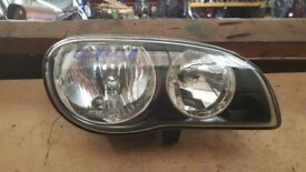 2001 TOYOTA COROLLA FRONT RIGHT DRIVER OFF SIDE OSF HEADLIGHT USED £35
