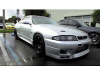 - * BREAKING * - Nissan Skyline R33 - GTS (N/a)
