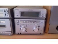 Sony MHC-NX1 Stereo System - 5CD Changer, Twin Cassette