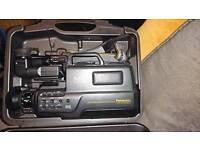 Panasonic m10 & m50 VHS Movie System **RARE ITEMS **