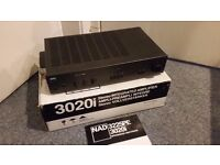 BOXED NAD 3020i AMPLIFIER (COLLECTION ONLY)