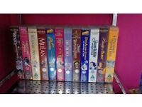 Selection of Disney videos