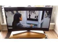 "Samsung 48"" Smart Ultra HD 4k Curved LED TV With Warranty £480"
