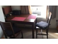 John Lewis - Dining Table plus 2 chairs and a bench