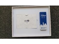 Scottish open gift box with 2 any day tickets, with additional gifts included