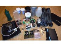 Carp end tackle bait and cooking stove job lot cheap