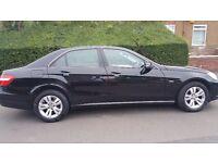 Mercedes Benz E220 Blueef Diesel, Black, 5 Doors for Sale *Excellent Condition*