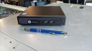 HP Prodesk 800 G1 - Ultra Small PC - i5 Intel - 8Gb RAM - 120 Solid State Drive - FREE Shipping - 1 Year Warranty