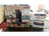 Xbox 360 Kinect Fifa 2016 + 12 games