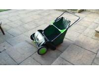 Lawn sweeper as new £35