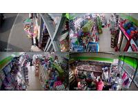 CCTV Camera 4 + Free installation Hight Definition recordng+Led monitor