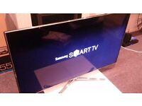 55'' samsung smart tv