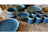 Huge crockery set & cutlery **VGC**