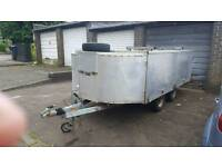 ect 10ftx6ft 2000kg box trailer opening sides