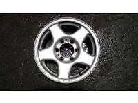6 stud 16 inch alloy wheels