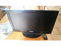 """21.5"""" Blaupunkt TV with remote"""