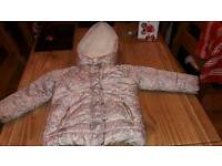 Next girl winter coat age 3 to 4