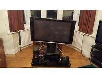 """PANASONIC VIERA 42"""" TV DVD HOME THEATRE SYSTEM, STAND, INSTRUCTIONS,REMOTE"""