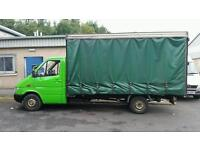 Curtainside Mercedes Sprinter - PRICED DROPPED