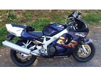 Cbr 900 rr x well sorted low mileage bike all standard apart from screen