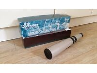 Bausch and Lomb 15-60 x 60 Discoverer Telescope, with box and instruction manual.