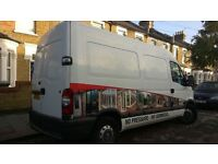 Probably The Best Man and Van in East London for Removals around London, UK, Europe