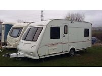 elddis sunseeker 484 ( crusader ) fixed bed special edition, reg 2008