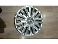 "Genuine VW 15"" Wheel Trim. Good condition."