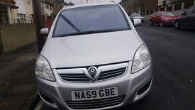 Vauxhall zafira 1.6 petrol 7 seater for sale