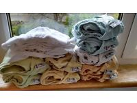 Set of real nappies