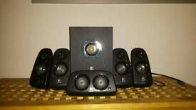 Logitech surround sound system