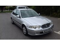 LOW MILEAGE DIESEL ROVER 45 & FULL SERVICE HISTORY AND MOT TILL 2019