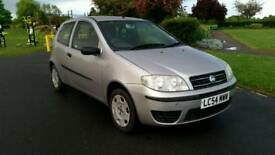 1 YEAR MOT + FIAT PUNTO 1.2 ACTIVE 8V + LOW MILEAGE 50000 + FULL SERVICE HISTORY + AIRCON + 2 KEYS