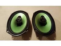 Fusion 6 x 9 speakers 310w