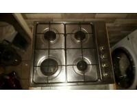 Smeg gas hob electric oven and unit