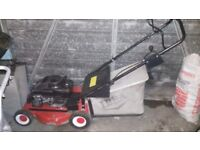 ibea push petrol mower in used condition and good runner