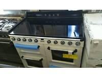 Brand new cream smeg induction range cooker 110cm