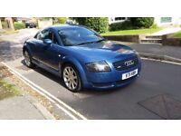1999 AUDI TT QUATTRO 225 BHP BLUE FULL LEATHER INTERIOR FULL SERVICE HISTORY 12 MONTHS MOT 3 KEYS