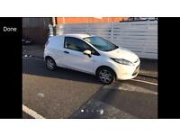2009 09reg Ford Fiesta Van 1.4 Tdci White New Shape