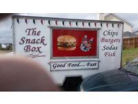 Fast food trailer/chip shop