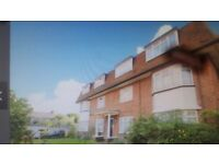 2 Bed-roomed unfurnished top floor flat near Tolworth train station, newly decorated