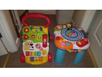 Vtech walker and Activity station Bundle £20