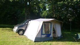 Mazda Bongo 2490cc Petrol Automatic 12mth MOT 8 seats, multi-seat/bed configuration, awning,mattress