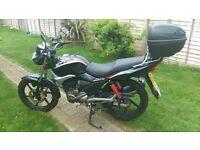 Kymco Pulas S 125cc motorbike