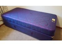 Ottoman single bed with Mattress
