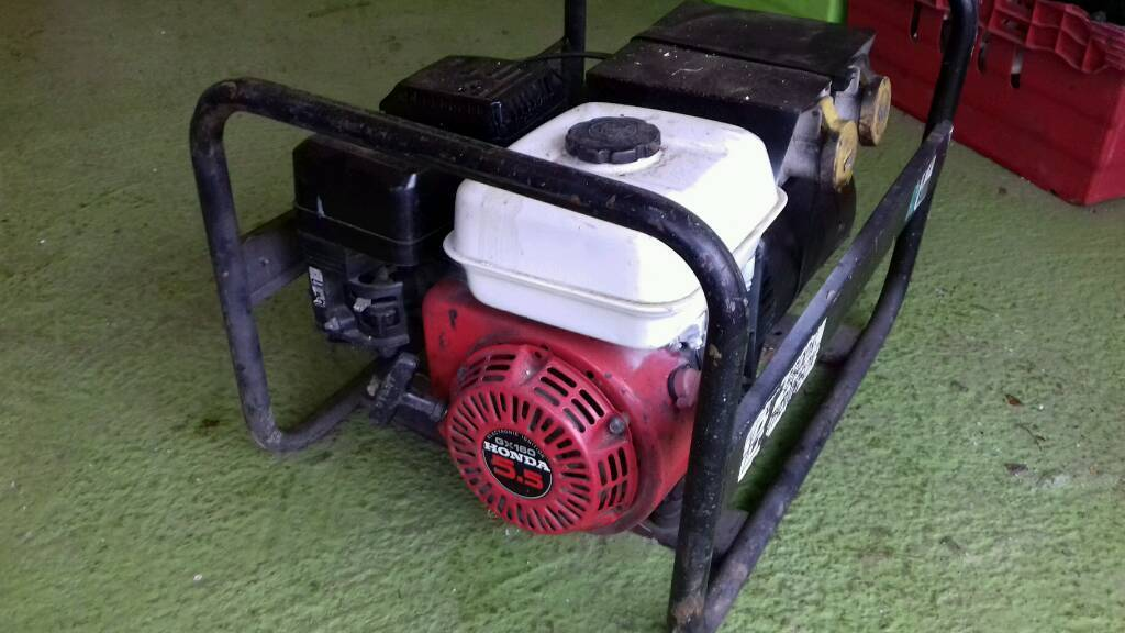 100% GOOD HONDA Generator with lead