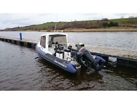REDBAY STORMFORCE 6.1m (boat) Ribfisher with DF140(bhp)TX Suzuki outboard