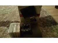 Playstation 3 Slim 500gb Boxed with 2 controller + 9 games