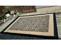 Out of Africa Leopard Print Rug